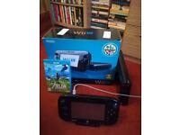 Nintendo Wii U 32GB with Zelda Breath of the Wild