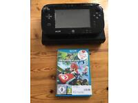 Wii U console and Mario Kart 8