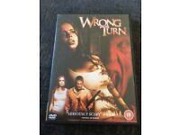 Horror Wrong Turn 1 & 2 DVD's