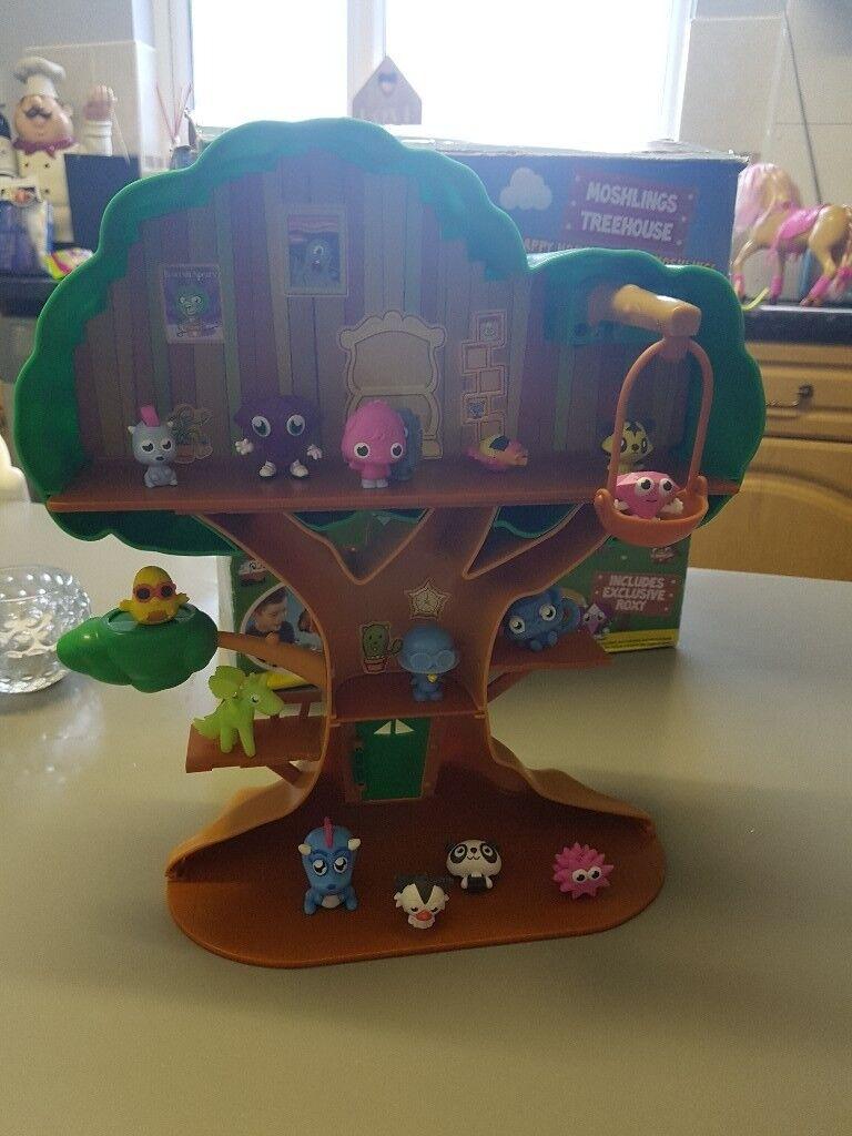Moshi monster tree house