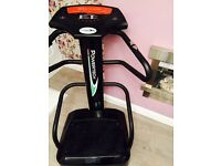 Powertech Body Shaper, Toning, Massage and Weightloss Vibration Plate