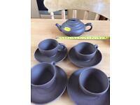 Small Clay Pot Tea Set