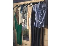 Ladies Clothes - (8 Items) - Includes 2 Jumpsuits