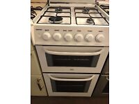 50CM WHITE GAS COOKER