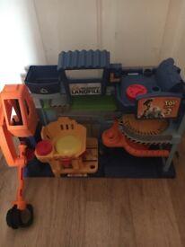 Toy Story Play Garage Disney Store Buzz Woody