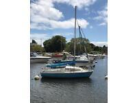 Skipper 17 sailing boat