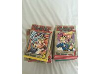 Complete set of Yu-Gi-Oh manga. Mint cond. inc all promo cards.
