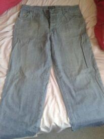 Light blue Armani jeans