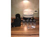 Tommee Tippee steriliser,bottle warmer,bottles ect