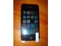 iphone 4 Black 16Gb (unlocked and in perfect working order)