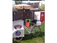 Fantastic ICE CREAM BIKE BUSINESS everything new huge profit cb5 1,650