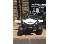 12v Beach Buggy, 2 Seater, LED Lights, Bluetooth Connectivity,Parental Remote & Self Drive
