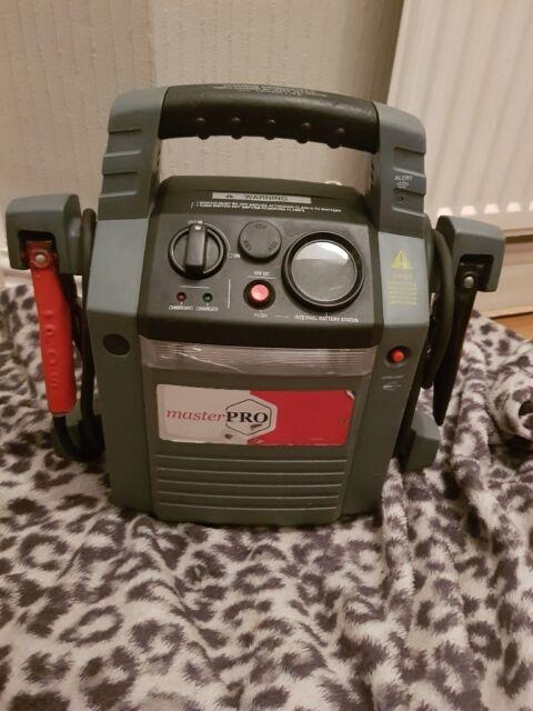Masterpro BMZH Car Jump Starter Pack 1200 Amp Peak 2600 Amp 12V With Work  Light | in Mansfield, Nottinghamshire | Gumtree