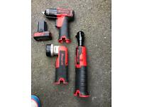 Snap on 3/8 14.4volt impact wrench/torch set