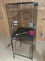 Small parrot bird cage
