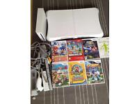 Nintendo wii bundles Super Mario games and Wii fit board