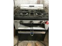 Flavel caravan or boat lpg gas oven and hob