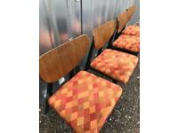 Set Of Four Retro Chairs