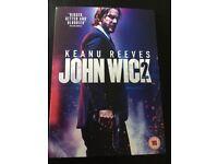 Brand New John Wick 2 DVD Sealed