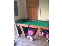 Snooker /pool table 6ft