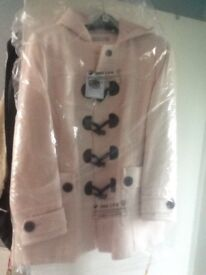 NEW WITH TAGS pink duffle coat size 22 from simply be