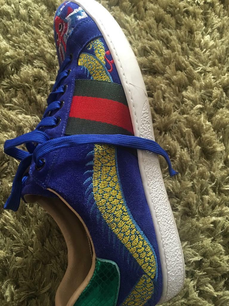 Authentic Leather Ace Gucci £300