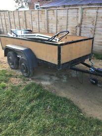 9x4 twin wheeled trailer