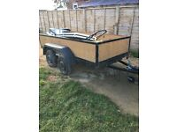 9x4 twin wheeled trailer