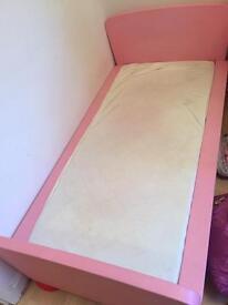 IKEA mammut kids bed pink
