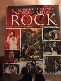 Hard back book - Encyclopedia of Rock