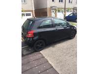Toyota Yaris 1.3 Black (Low mileage) - FSH Great Condition like Jazz