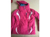 Girls No Fear Ski Jacket VGC size 9-10