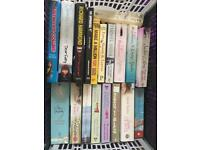 Assortment of second hand books