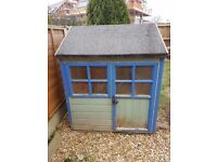 4 x 4 chilrens wooden playhouse