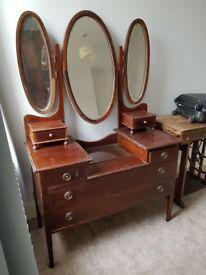 Lovely Edwardian dresser for sale.