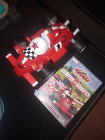 Rory racing car and dvd