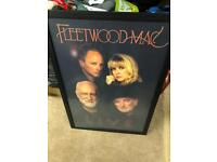 Fleetwood Mac live framed print new