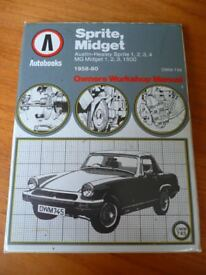 SPRITE, MIDGET 1958-80 Owners Workshop Manual