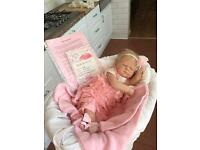 REBORN DOLL AND STAND