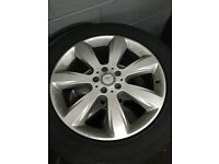 2013 MERCEDES ML ALLOYS 19""