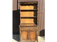 Very slim cottage dresser cupboard upcycle