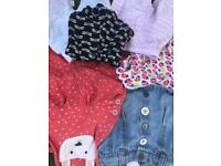 Girl clothes 0-6 months