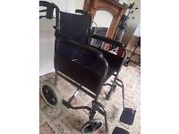 Wheelchair - great condition fold up and portable