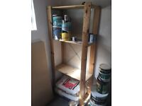 Wooden Shelving / Shelf stand for garage / tools etc.
