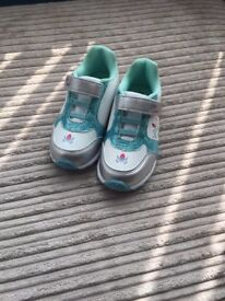 Frozen light up trainers size 10 brand new