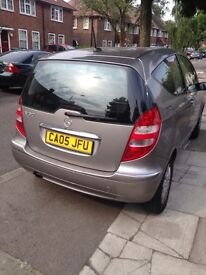 A class Mercedes £1700 Ono 05 with 6 months mot full service history