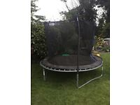 8ft trampoline for sale. £40. Collection only