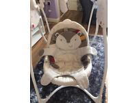 Baby swing chair. Perfect condition. Smoke an pet free home original price £120
