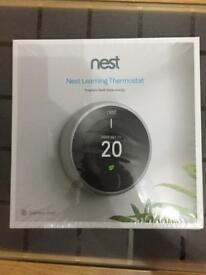 Nest latest 3rd generation learning thermostat