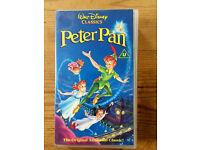 PETER PAN - ORIGINAL DISNEY FILM - VHS VIDEO!